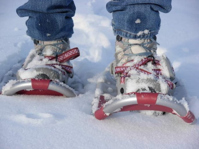 Нужны ли снегоступы в походе?